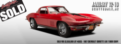 1967 Chevrolet Corvette L88 2 Door Coupe