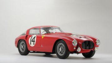 Red 1953 Ferrari 340/375 MM Berlinetta 'Competizione'