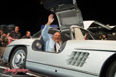Sterling-Moss-Mercedes-300-SL-Gullwing in Arizona 2014