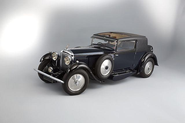 Black 1931 Bentley 8 Liter Coupé