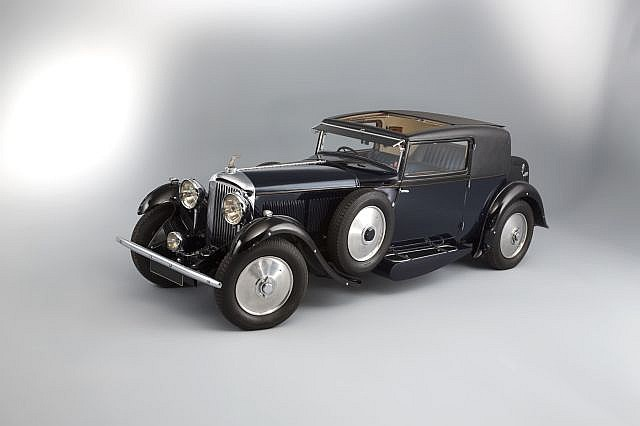 Black 1931 Bentley 8 Liter Coupé