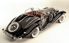 1936 Mercedes-Benz 540 K Special Roadster 3/4 Rear View