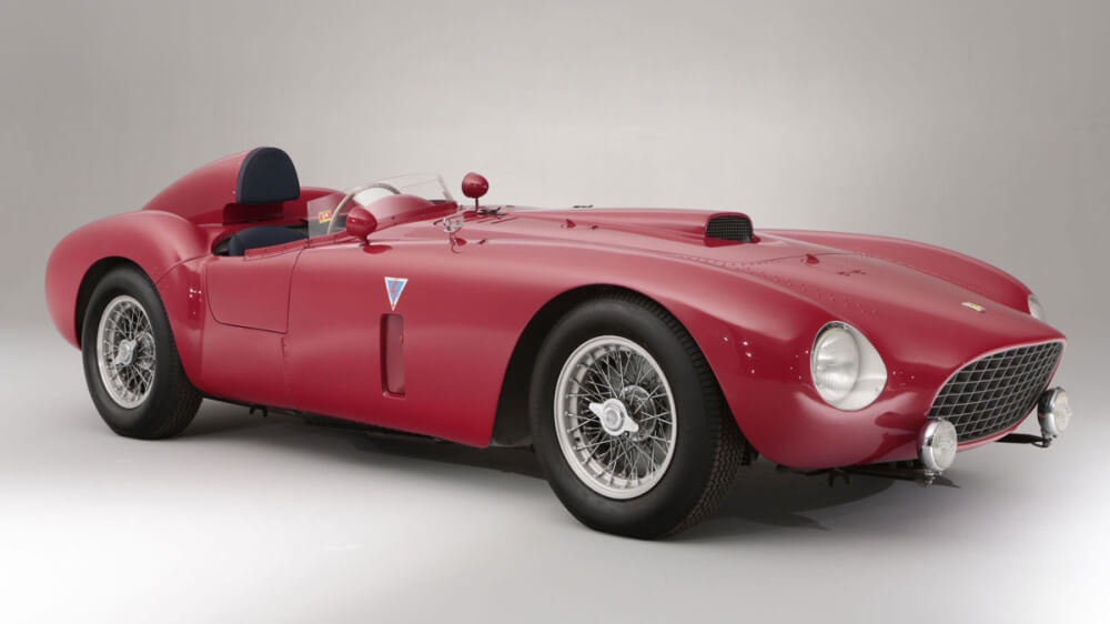 Red 1954 Ferrari 375 Plus
