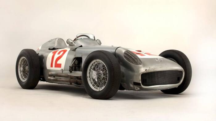 1954 Mercedes Benz W196 Formula 1 Racing Car