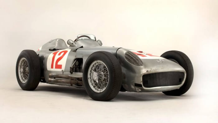 1954 Mercedes Benz W196 Formula 1 Racing Car