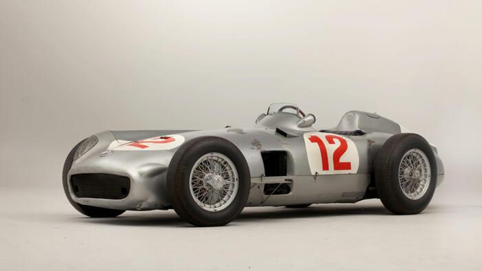 1954 Mercedes-Benz W196R Formula-1 Racing Car