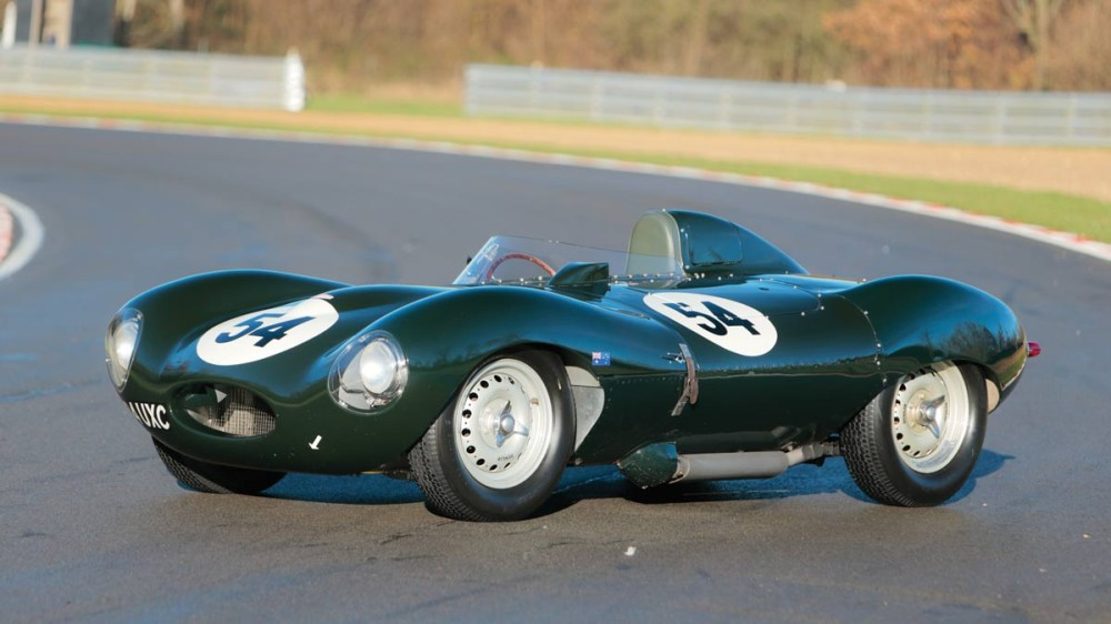 1955 Jaguar D-Type Racer
