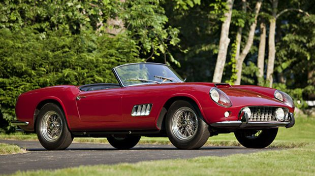 Red 1960 Ferrari 250 GT California Spider LWB