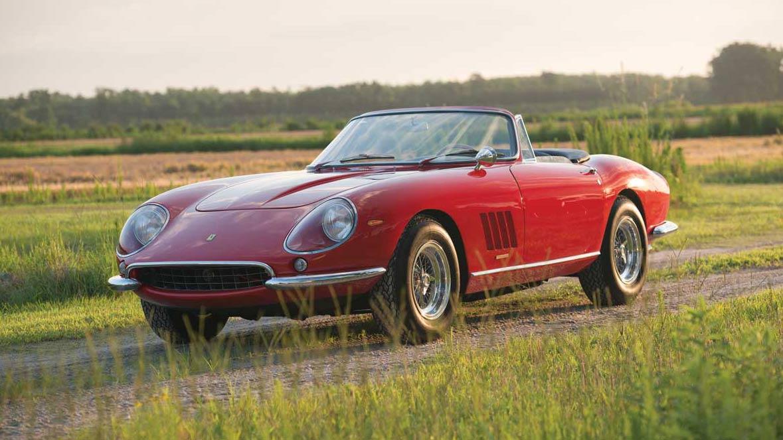 Most Expensive Road Going Car Ever 1967 Ferrari 275 Gtb Spider
