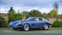 Blue 1968 Ferrari 275 GTB/4 Berlinetta
