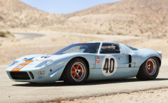 Blue 1968 Ford GT40