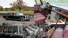 Barn Find 1971 Mercedes-Benz 600 'Six-Door' Pullman Landaulet