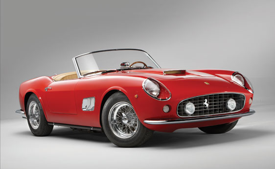 Red 1962 Ferrari 250GT California Spider