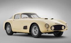 White 1955 Ferrari 410 S