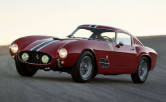 Red 1956 Ferrari 250 GT Tour de France