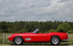 Red 1957 Ferrari 250GT California Spider LWB