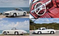 White 1962 Mercedes-Benz 300SL Roadster