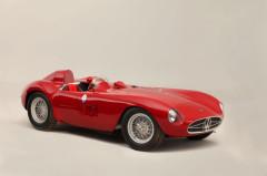 Red 1955 Maserati 300S