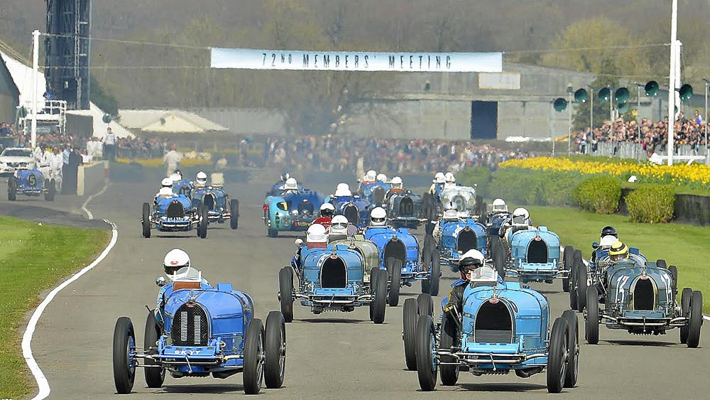 Bugattis at Goodwood