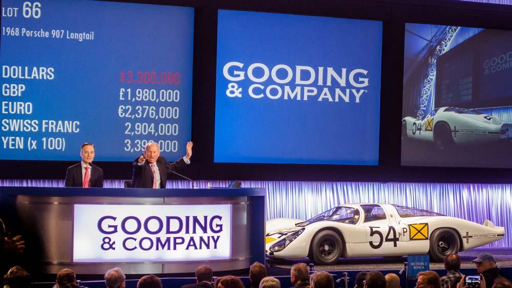 Porsche 907 Longtail at Auction