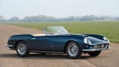 Blue 1959 Ferrari 250 GT Cabriolet Series I by Pinin Farina