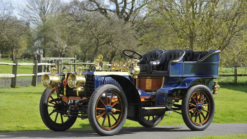 1902 De Dietrich Paris to Vienna Car