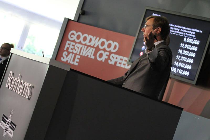 Bonhams Goodwood Festival of Speed Auction