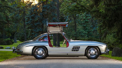 1955 Mercedes Benz 300 SL Gullwing sideview