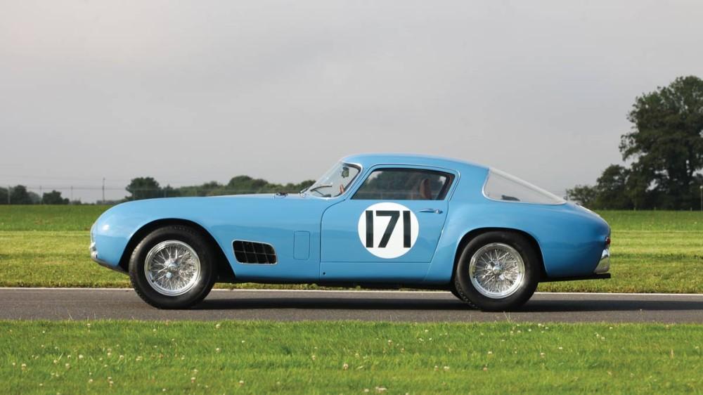 1956 Ferrari 250 GT Berlinetta Competizione 'Tour de France' side profile