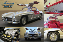 1956 Mercedes Benz 300 SL Gullwing Russo and Steele