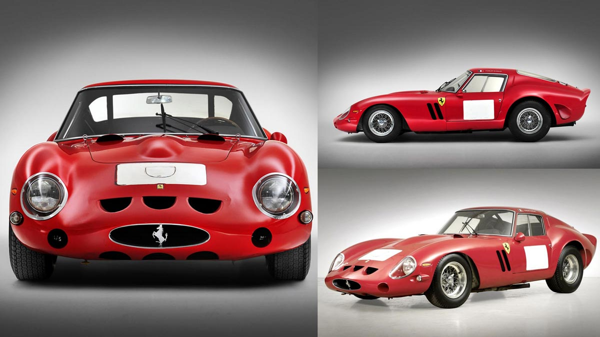 2014 Ten Most-Expensive Cars Sold at Public Auction