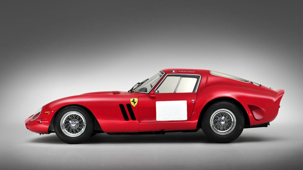 1962 Ferrari 250 GTO - the most-expensive car at public auction ever