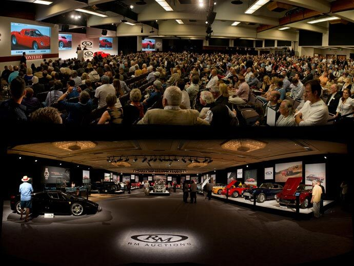 RM Auctions Monterey 2014 Sale in Action