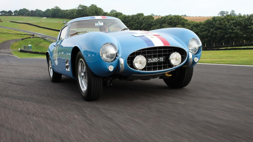 1956 Ferrari 250 GT Berlinetta Competizione 'Tour de France' by Scaglietti Photo Credit: James Mann ©2014 Courtesy of RM Auctions