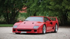 Red 1989 Ferrari F40 Photo Credit: Cymon Taylor ©2014 Courtesy of RM Auctions