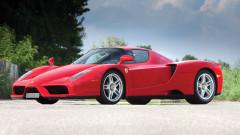 Red 2003 Ferrari Enzo