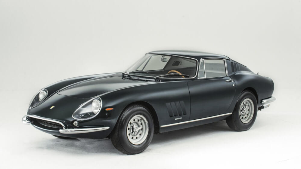 1965 Ferrari 27Dark Green 5 GTB Alloy-Bodied Berlinetta