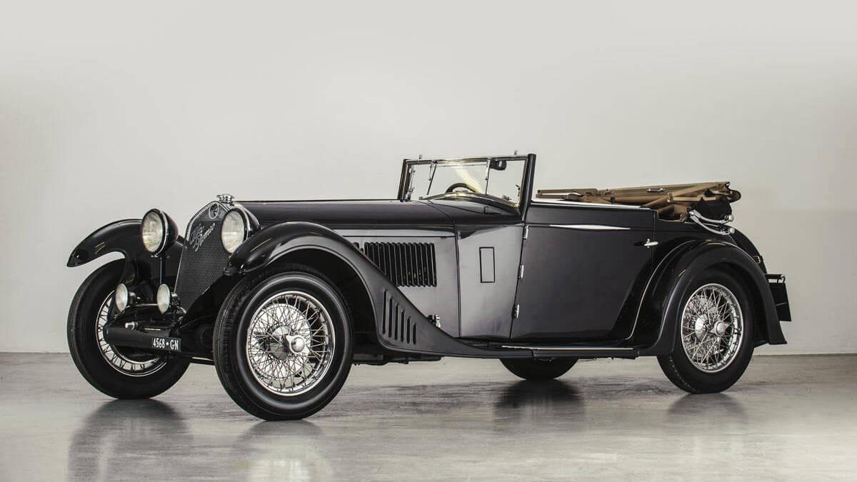 1930 Alfa Romeo 6C 1750 Supercharged Gran Sport