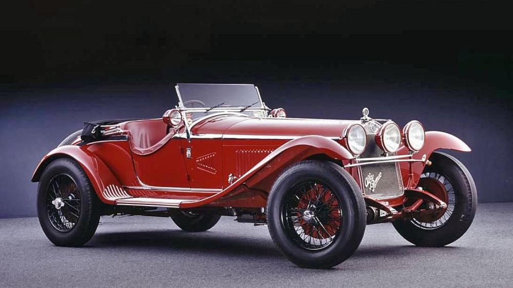 The ex-Giuseppe Campari 1931 Alfa Romeo 6C 1750 5th Series Supercharged Gran Sport Spider