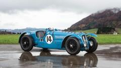 1935 Delahaye 135 S blue