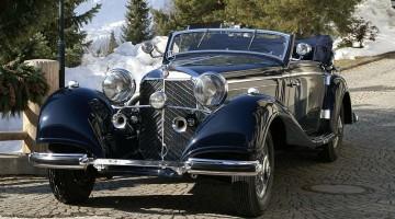 1938 Mercedes Benz 540 Kompressor Cabriolet A Bonhams