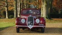 1939 Alfa Romeo 6C2500 Sport Berlinetta by Touring Front View