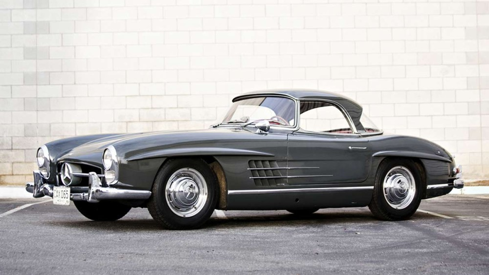 1960 Mercedes-Benz 300 SL Roadster Grey