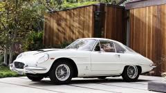 Whie 1962 Ferrari 400 Superamerica SWB Coupe Aerodinamico