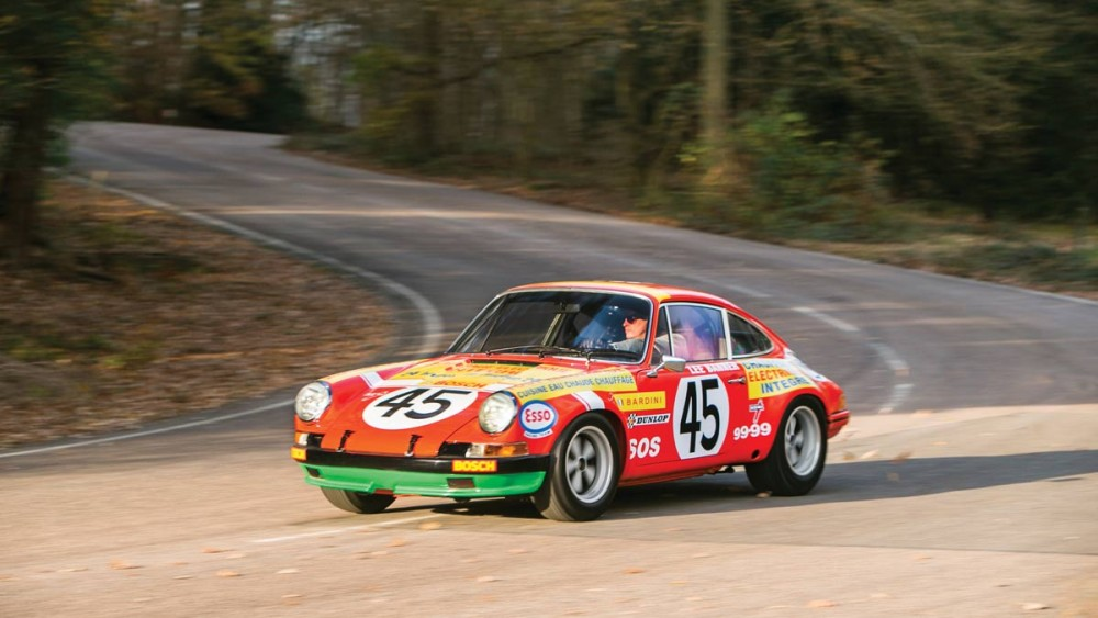 1969 Porsche 911 S Ex-Works side view