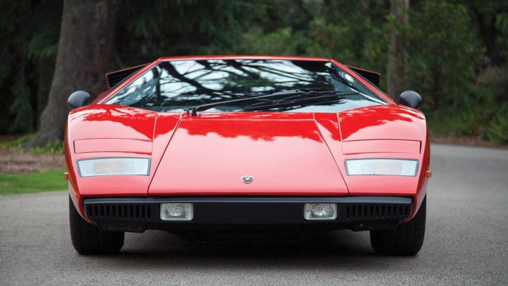 1977 Lamborghini Countach LP400 'Periscopio' front view