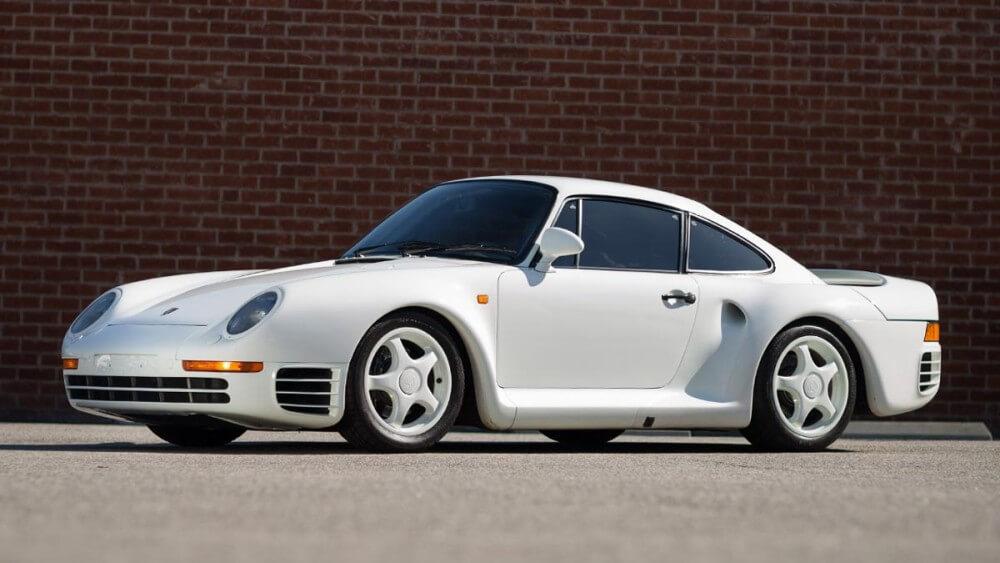 1988 Porsche 959 Sport white