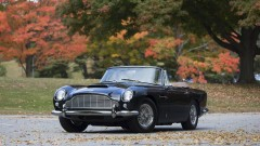 1965 Aston Martin DB5 Cabriolet Front Trhee Quarter view