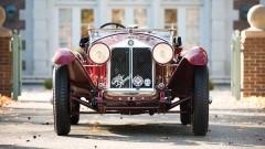 1931 Alfa Romeo 6C 1750 Spider (Front View)