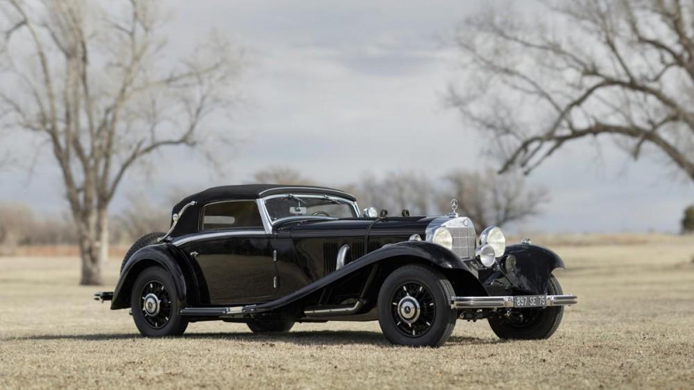 1935 Mercedes-Benz 500/540 K Cabriolet A by Sindelfingen